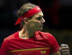 La Copa Davis entre España - Rusia destaca en #Vamos