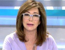 Telecinco lidera ampliamente la franja de mañana con Ana Rosa Quintana (17,7%)