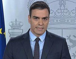 La 1 lidera durante el prime time con la comparecencia de Pedro Sánchez