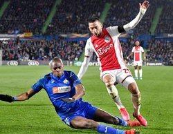 La victoria del Getafe ante el Ajax en la Europa League es lo más visto en Movistar+