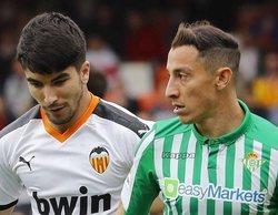 El Valencia-Betis de LaLiga, lo más visto al atraer a 279.000 espectadores