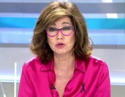 Telecinco lidera la franja matinal (15,7%) gracias al éxito de 'El programa de Ana Rosa'