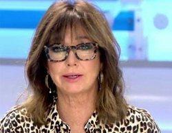 Telecinco lidera ampliamente la franja de mañana gracias a 'El programa de Ana Rosa' (18,8%)