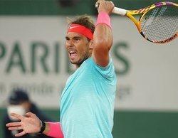 El encuentro de Roland Garros que enfrentó a Jannik Sinner y Rafa Nadal lidera en Eurosport
