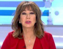 'El programa de Ana Rosa' le da a Telecinco el claro liderazgo de la mañana con un 17,3%