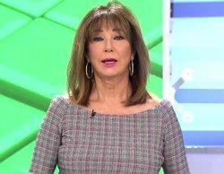 Telecinco lidera con contundencia la mañana con el máximo de temporada de 'El programa de Ana Rosa' (21,6%)