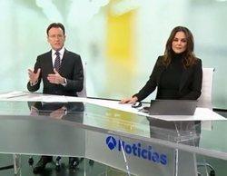 Antena 3 lidera en la sobremesa con sus 'Noticias', pero a partir de la tarde ya toma el mando Telecinco