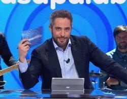 Antena 3 lidera la tarde con el especial 20 años de 'Pasapalabra' como lo más visto del día