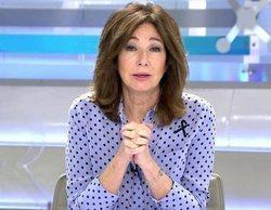Telecinco mantiene su holgado liderazgo en la mañana con los buenos datos de 'El programa de Ana Rosa'