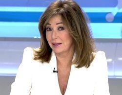 Telecinco (22,8%) arrasa en la mañana gracias a los grandes datos de 'El programa de Ana Rosa'