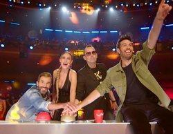 Telecinco lidera todas las franjas del viernes, distanciándose especialmente en el late night (22,4%) con 'Got Talent'