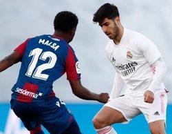 El encuentro entre el Real Madrid y el Levante (4,6%) golea a su competencia en Movistar La Liga