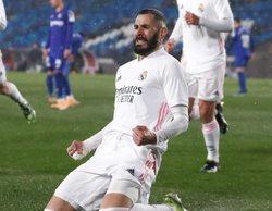 El Real Madrid - Getafe (3,4%) deja en fuera de juego a su competencia