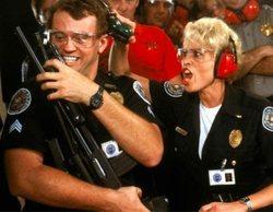 """""""Loca academia de policía 5"""" es la película más vista con un 0,6% en Comedy Central, pero lidera el fútbol"""
