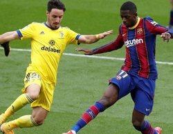 El fútbol se queda con las emisiones más vistas del día con el Barcelona - Cádiz a la cabeza