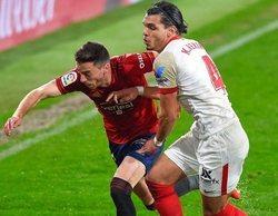 El fútbol repite como lo más visto del pago con el partido entre el Osasuna y el Sevilla