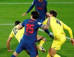 El fútbol se lleva 9 de las 10 emisiones más vistas del día con el Villareal - Atlético de Madrid (3,7%) en primer puesto