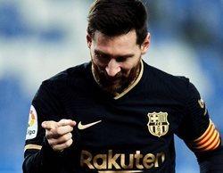 Las 10 emisiones más vistas del día están relacionadas con el fútbol, liderando el Real Sociedad-Barcelona (5,5%)