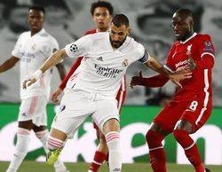 La Champions League arrasa en Movistar con el partido entre el Real Madrid y el Liverpool (7,2%)