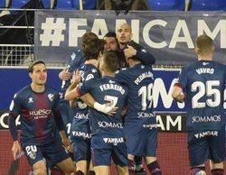 La victoria del Huesca sobre el Elche en Movistar (0,8%), lo más visto de la jornada