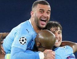 El encuentro Manchester City - Paris Saint Germain (4,3%) chuta con fuerza en pleno prime time