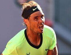 El Roland Garros en Eurosport, lo más visto de la jornada con el partido entre Nadal y Popyrin