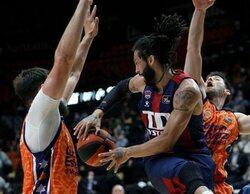El baloncesto, lo más visto en #Vamos con el partido entre el Valencia Basket y el Baskonia (0,4%)