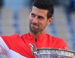 La victoria de Djokovic en Roland Garros domina con soltura