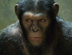 """""""El origen del planeta de los simios"""" (0,6%) conquista a los usuarios del pago"""