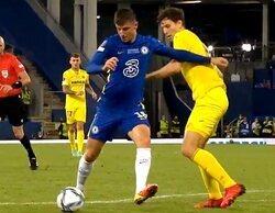 Los penaltis del Chelsea - Villarreal lideran en Movistar Liga de Campeones entre los canales de pago