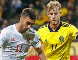 La 1 lidera en el prime time con la derrota de España ante Suecia
