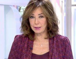 Telecinco supera el 20% en la mañana con el máximo de 'El programa de Ana Rosa'