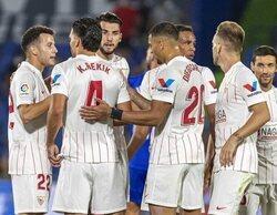 El partido Getafe-Sevilla triunfa con un 2% en Movistar LaLiga