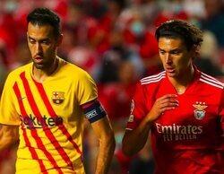 La derrota del Barcelona ante el Benfica toma el control de la noche en Movistar+