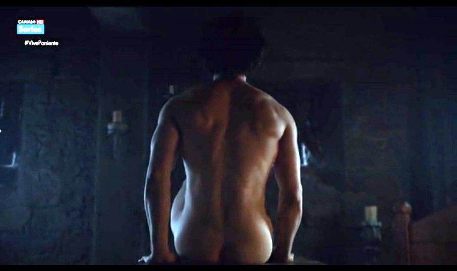 Kit Harington, desnudo, enseña el culo en 'Juego de Tronos'