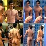 Miguel Ángel Muñoz, desnudo, muestra el culo en 'Un paso adelante'