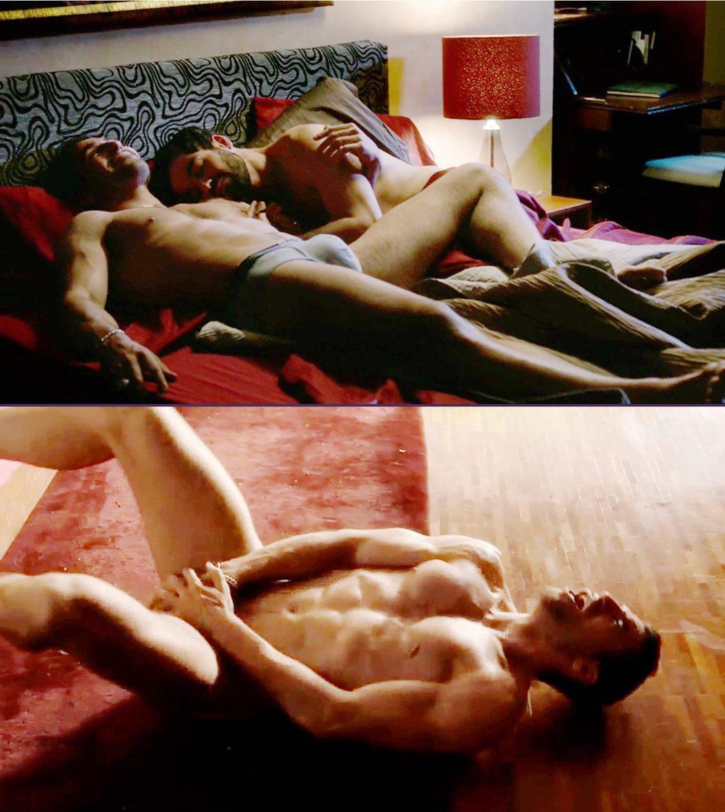 Miguel Ángel Silvestre, desnudo, en la serie 'Sense8'