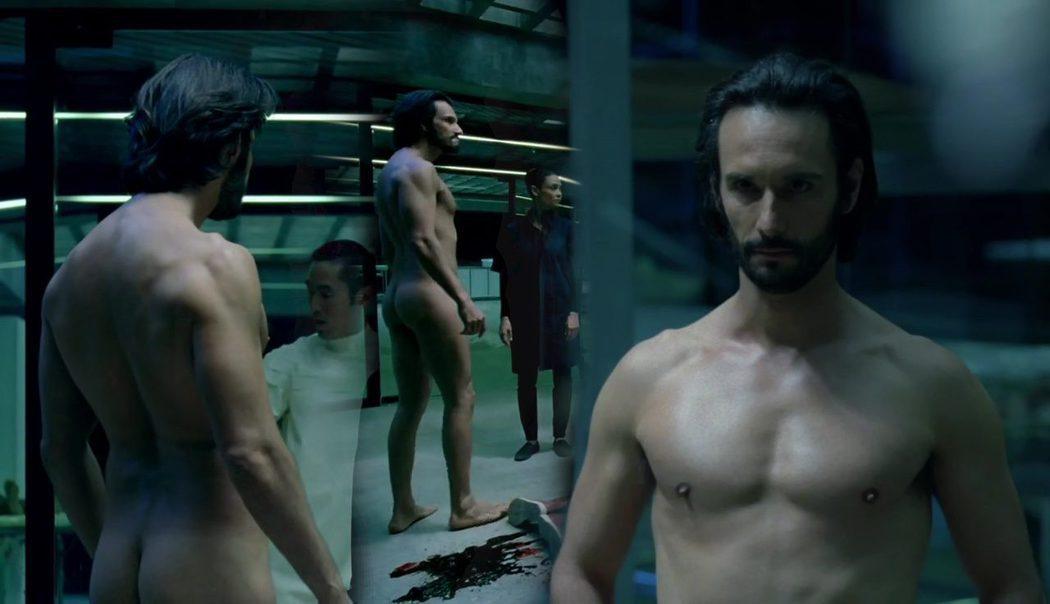 Rodrigo Santoro, completamente desnudo, muestra el culo en 'Westworld'