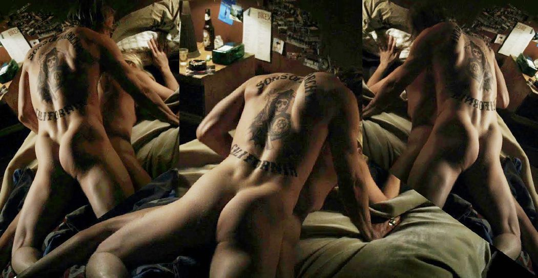 Charlie Hunnam, completamente desnudo, enseña el culo en 'Sons of Anarchy'