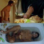 """Santi Millán, totalmente desnudo, mostrando el pene en """"Amor idiota"""""""