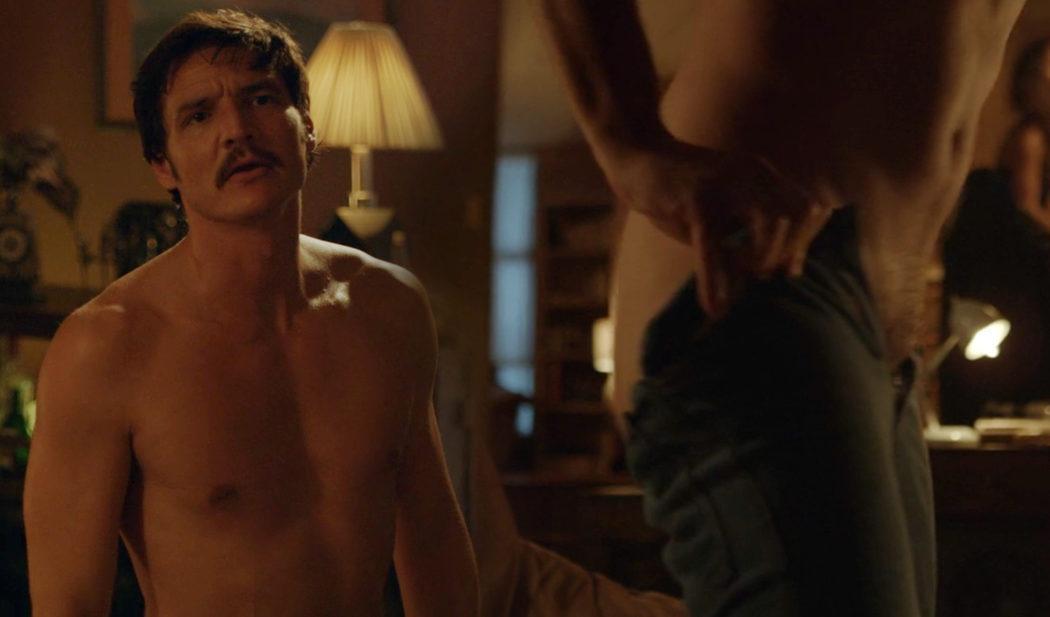 Pedro Pascal, desnudo, enseña el culo en 'Narcos'