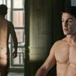 Alejo Sauras, desnudo, enseña el culo en 'Estoy vivo'