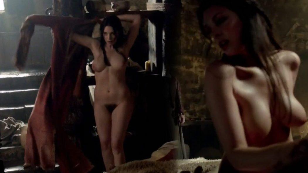 Lise Slabber, completamente desnuda en 'Black Sails'