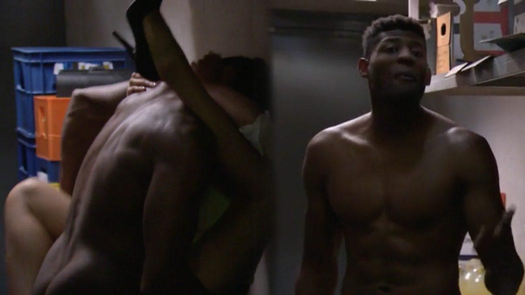 Ricardo Nkosi Desnudo Enseña El Culo En La Que Se Avecina