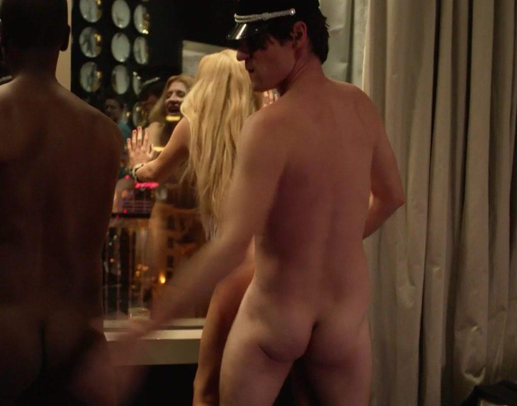 Taylor Hart, desnudo, enseña el culo en 'House of Lies'