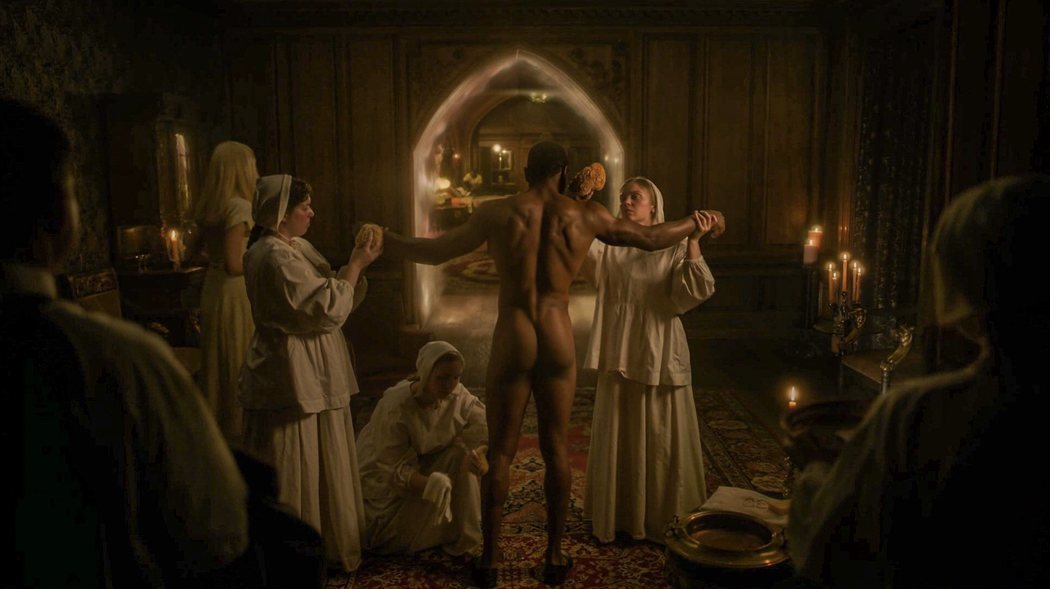 Jonathan Majors, desnudo en 'Territorio Lovecraft' de HBO