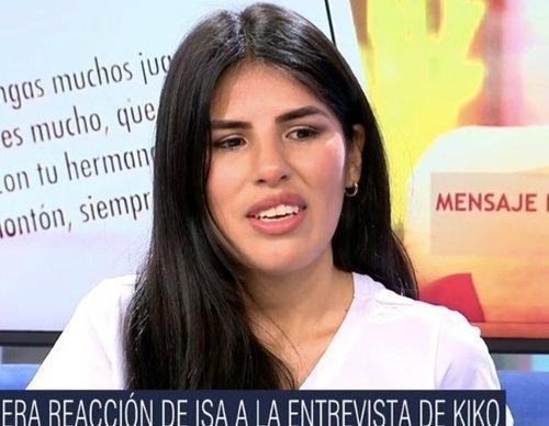 """Isa Pantoja se pronuncia tras la entrevista de Kiko Rivera: """"Intenté mediar pero noté que no iba a ningún lado"""""""