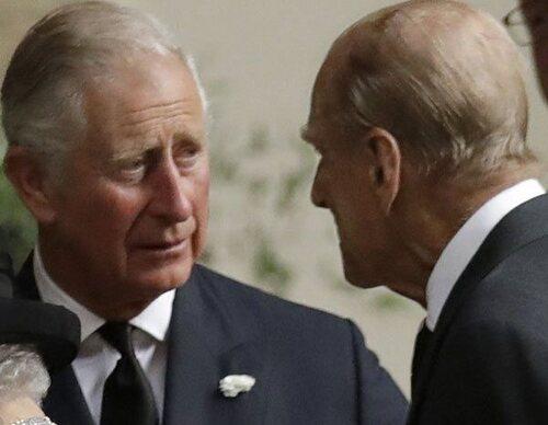 Así fue la última conversación entre el Duque de Edimburgo y el Príncipe Carlos