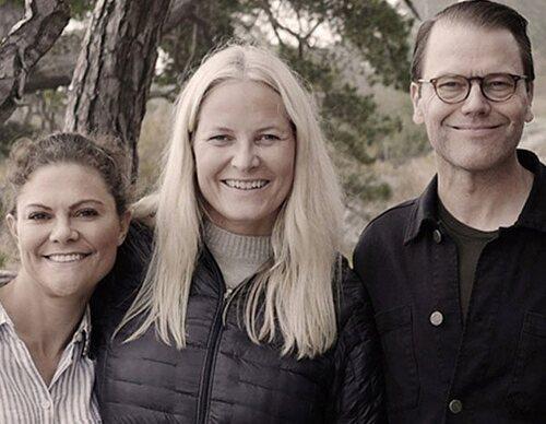 El viaje de Victoria y Daniel de Suecia con Haakon y Mette-Marit de Noruega: complicidad y una ausencia