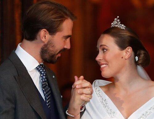 La boda de Felipe de Grecia y Nina Flohr: enlace religioso, emoción, romanticismo, besos, muchos royals y tiara sin sorpresas